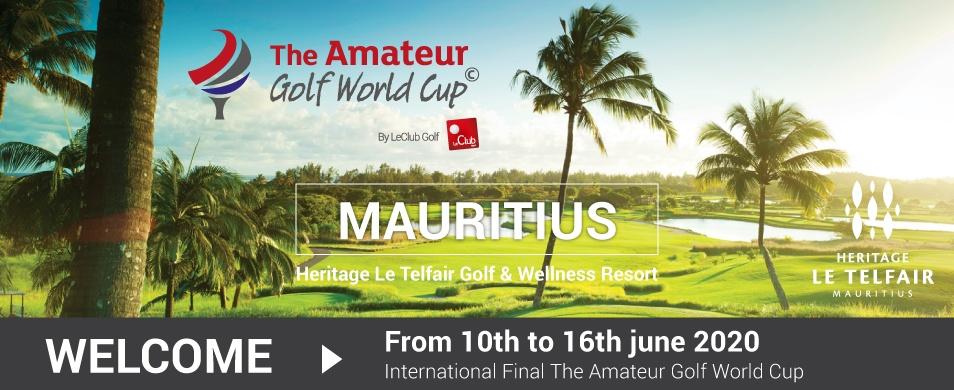 The Amateur Golf Cup 2020 Iles Maurice