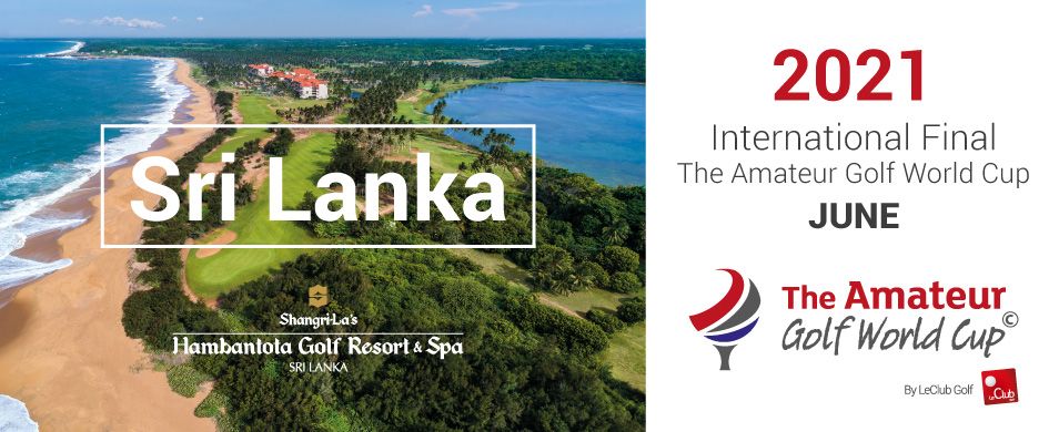 The Amateur Golf World Cup 2019 Sri Lanka