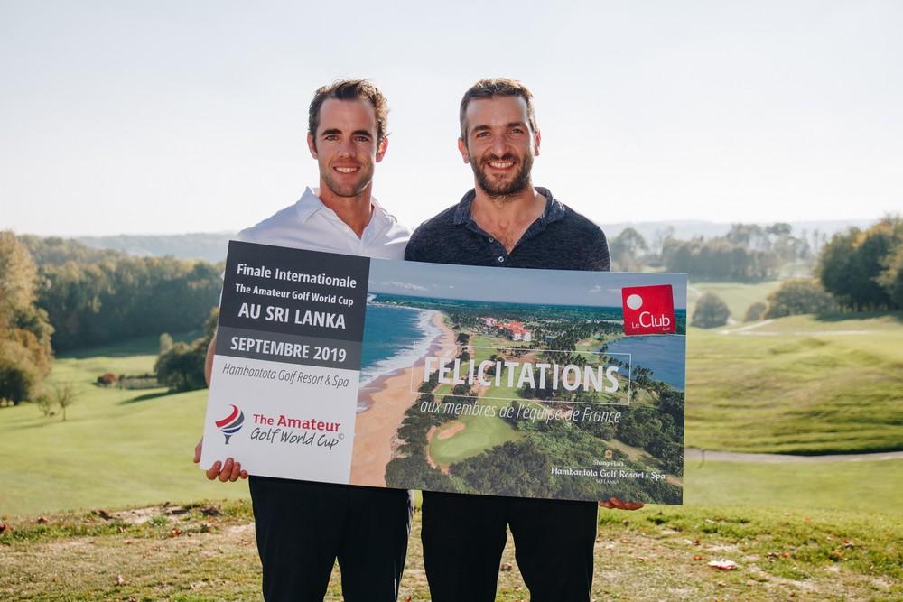 Membre equipe de France 2018 de l'amateur golf world cup