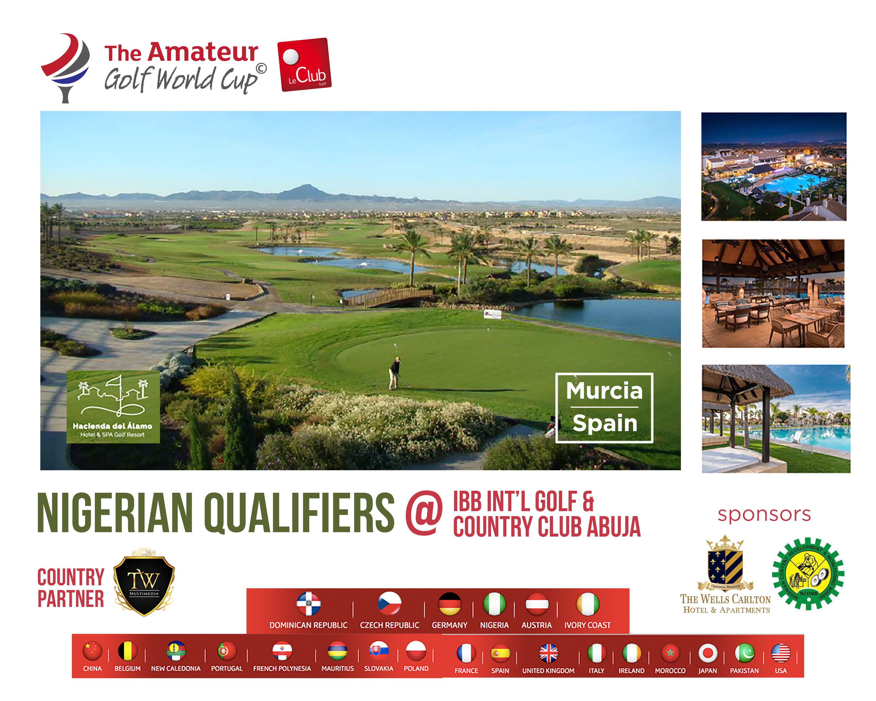 The Amateur golf final
